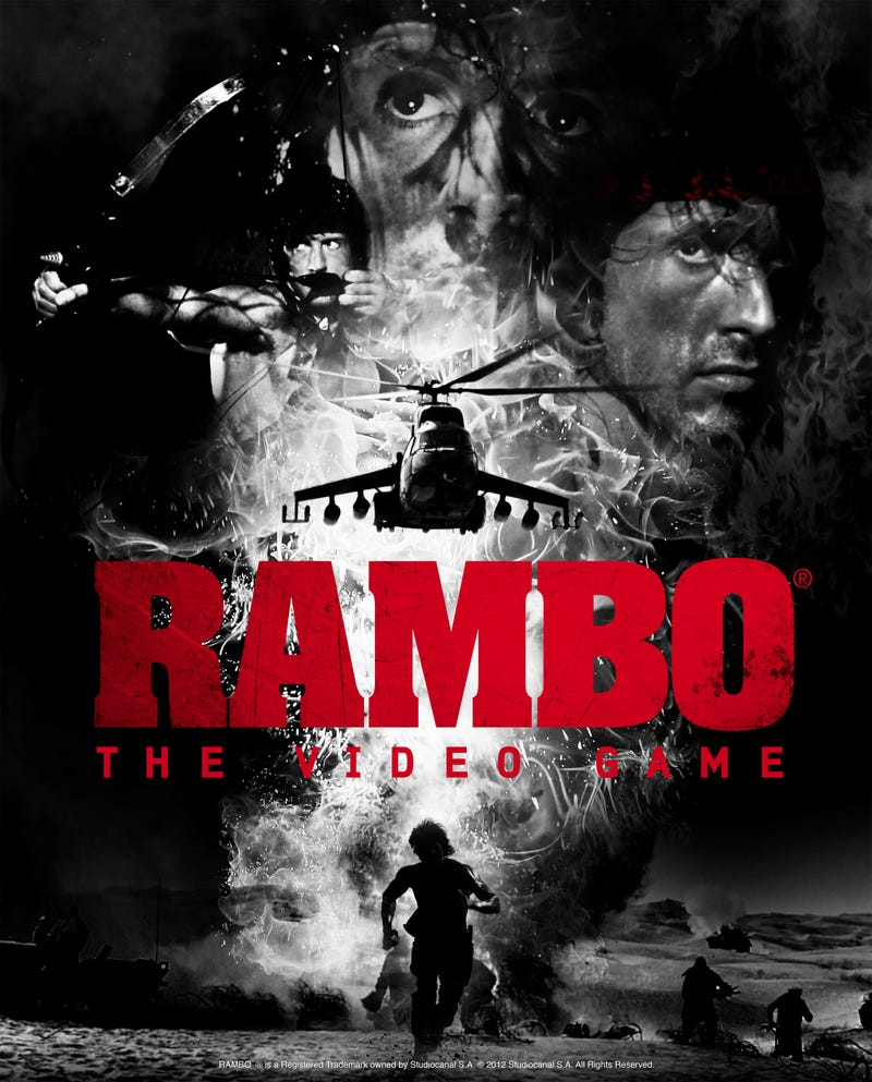 Wait, They Were Serious About Rambo: The Video Game?