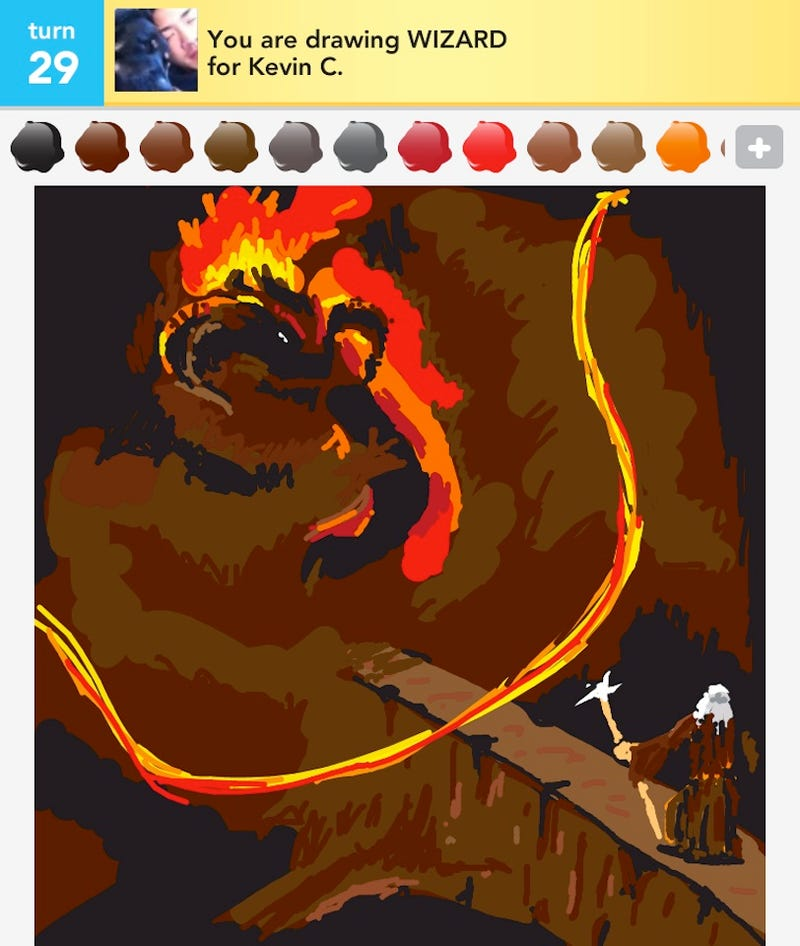 Kotaku Reader Fobwashed Is The Most Amazing Draw Something Artist I've Ever Seen