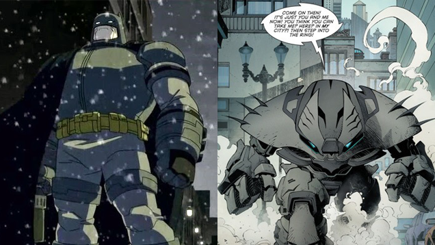 all the reasons why batman has worn crazy power armor