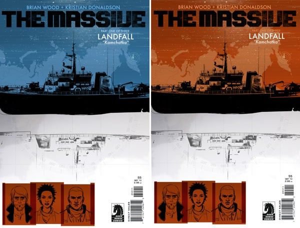 How to create a scifi comic cover (with dystopian design maven Brian Wood)