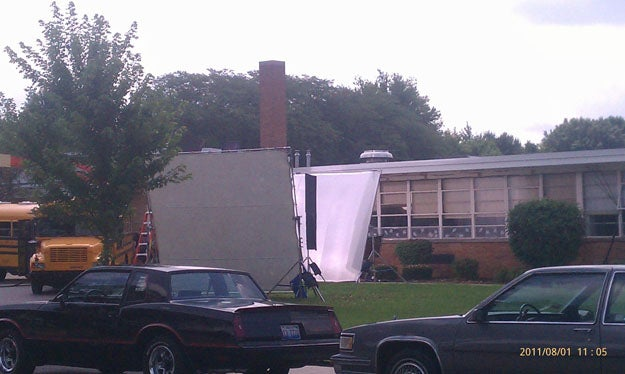 Man of Steel Set Pictures — Smallville