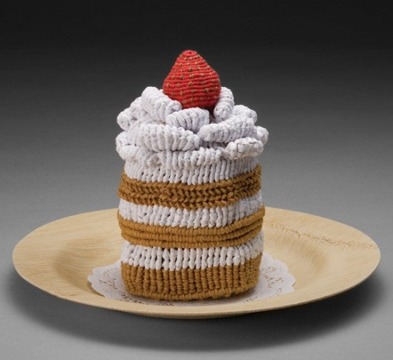 Knitted Junk Food Looks Like Dessert, Has None Of The Calories