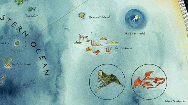 The Official Mapmaker of Lev Grossman's magical land reveals his secrets