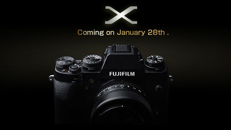 New Fujifilm Image Shows a New Retro Body With SLR-Style Hump