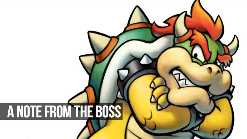 Hello, I'm Kotaku's New Editor-in-Chief
