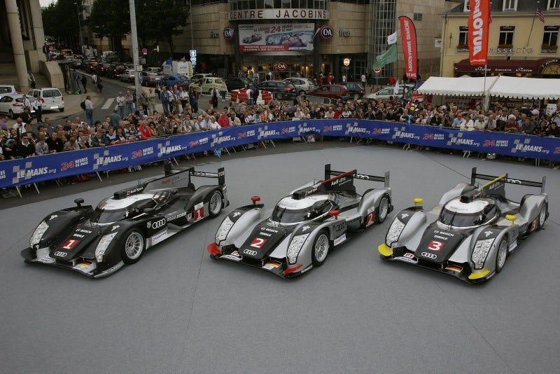 Audi will bring a third car at Spa