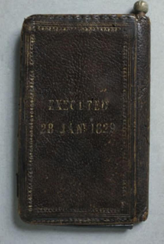 In the 1800s, binding a book with your own dead skin made a lovely gift