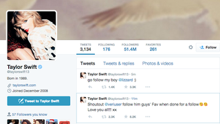 Taylor Swift's Twitter Hacked and She's on Vacation Oh My God I'm Crying