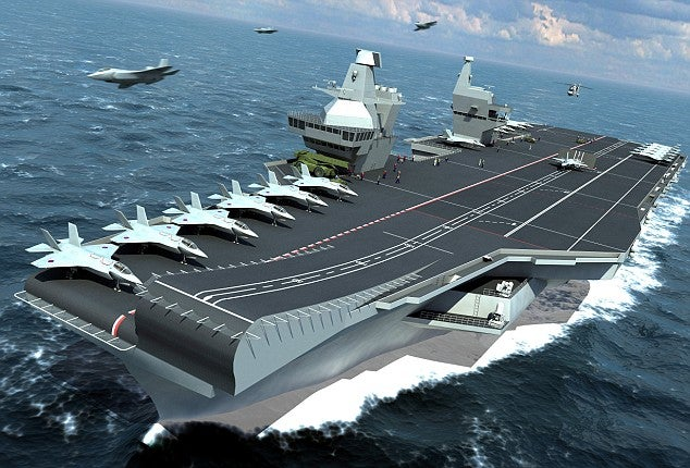 Britain Building Next-Generation Aircraft Carriers for F-35 Fighters