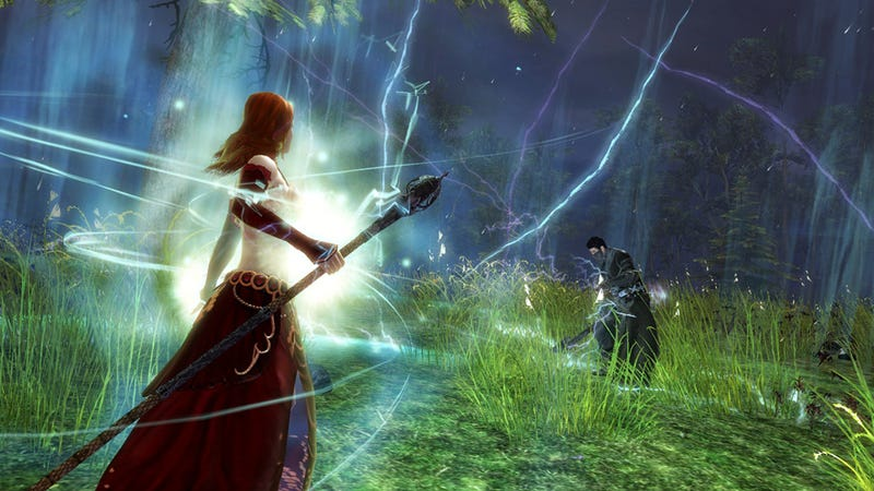 See Guild Wars 2's Elementalist In Action