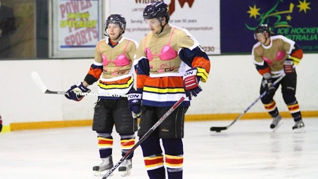 Australian Hockey Team Suits Up In Bra Sweaters