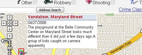 SpotCrime Maps Local Illegal Happenings