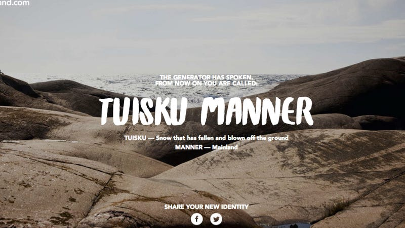 Get Your Racing Name With Finland's New Name Generator