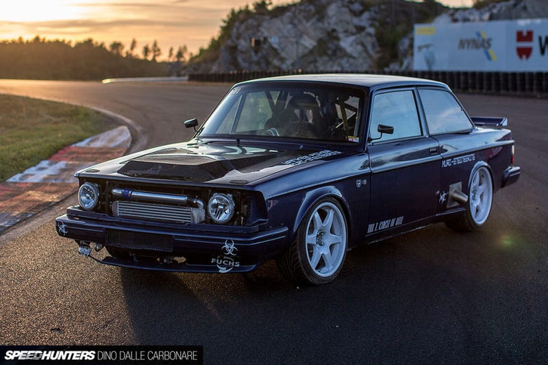 This TT V10 powered Volvo is glorious