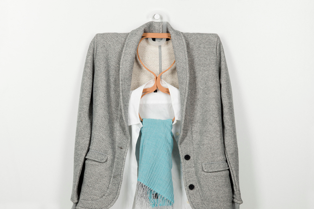 A Smart Transforming Hanger Will Double the Capacity of Your Closet