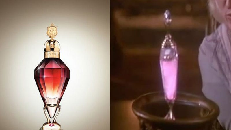 Katy Perry's New Fragrance Bottle Looks Like 'Death Becomes Her' Prop