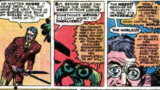 Is this the most insane comic Stan Lee's ever written?
