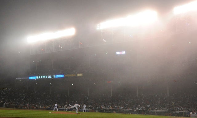 Denard Span Had No Fun Playing In Foggy-Ass Wrigley Last Night