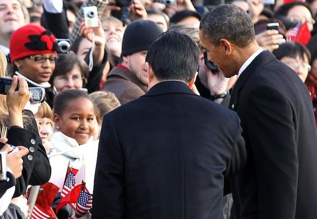 Sasha Obama Practices Her Chinese With Hu Jintao