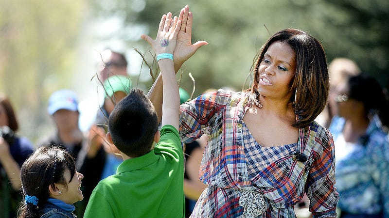 Michelle Obama Says Eat All the Chocolate You Want! Almost.