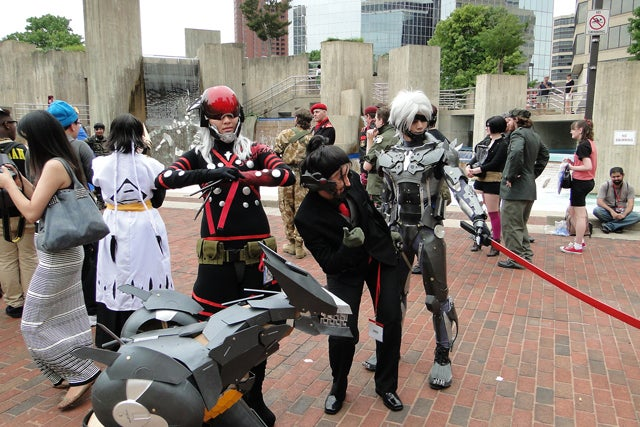 This Is How You Cosplay Metal Gear Rising Characters