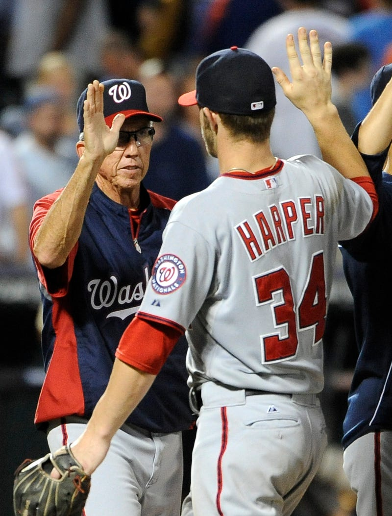Bryce Harper Is Davey Johnson's Favorite Player Ever