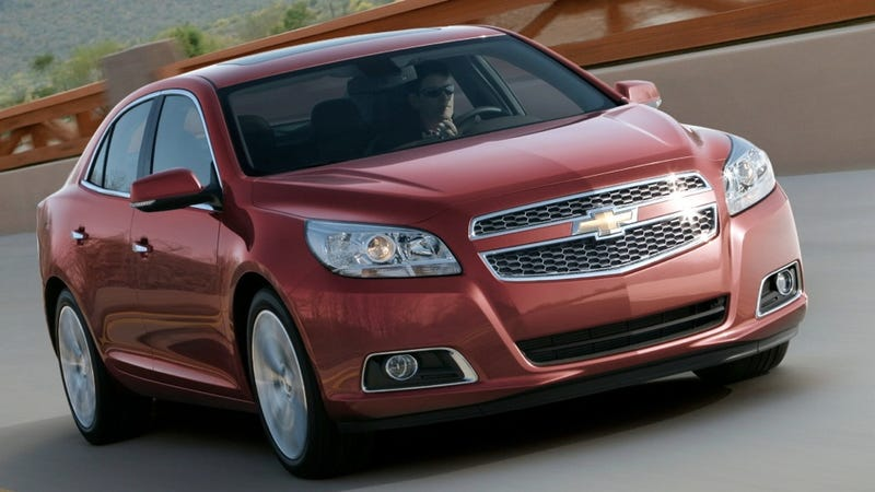 This is the 2013 Chevrolet Malibu
