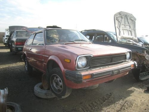 1980 Civic Joins The Parade Of Crusher-Bound Malaise Hondas