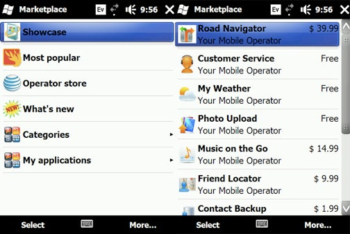 This Is What the Windows Mobile Marketplace Looks Like