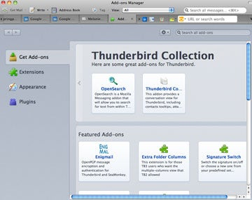 Thunderbird 5 Brings Tab-Dragging, Add-ons Management, and More Zippy Improvements