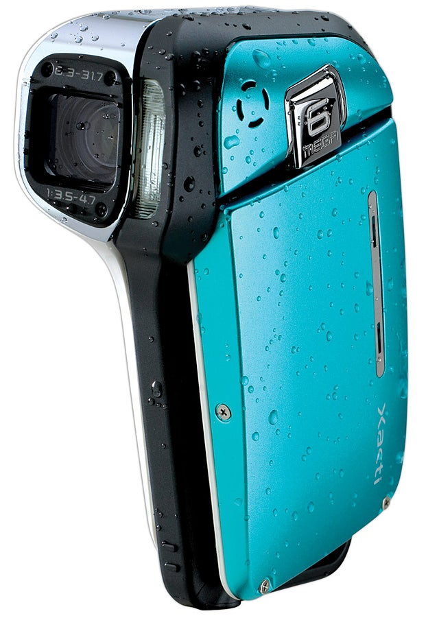 Sanyo Xacti E1, World's First Waterproof Camcorder