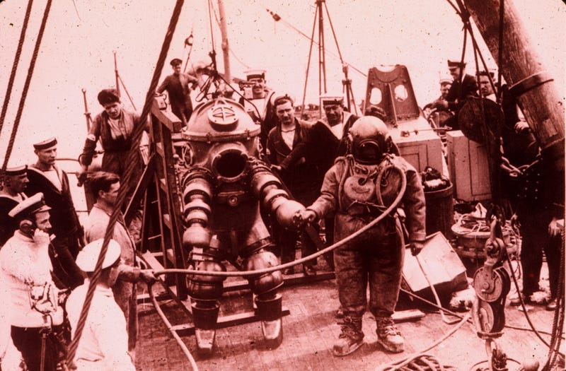 The Evolution of the Atmospheric Diving Suit