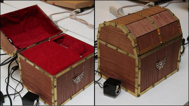 It's Dangerous To Go Alone! Take This Detailed Custom PC.