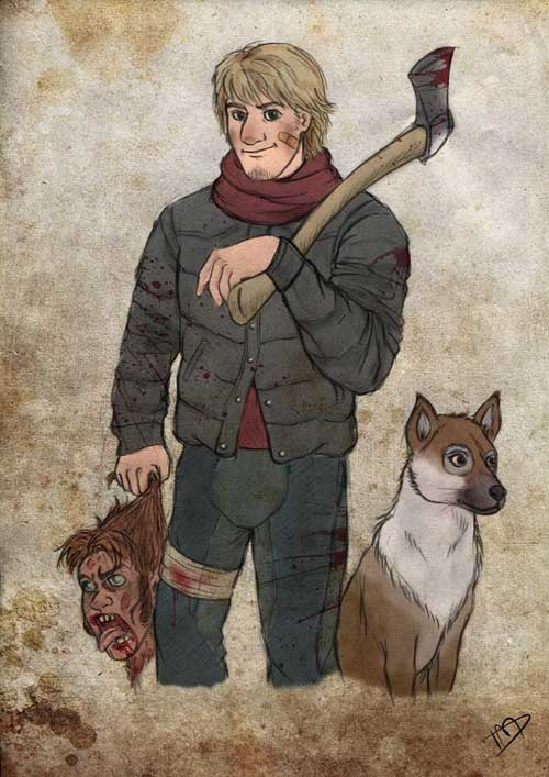 What If Disney Characters Took Up Arms On The Walking Dead
