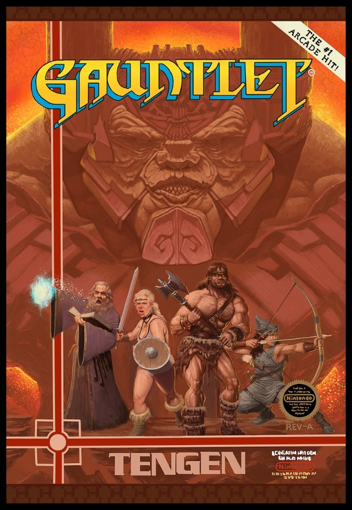 Gauntlet Reimagined, Looks (Mostly) Badass