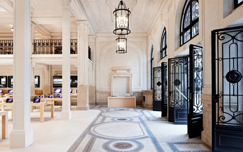 Paris' Newest Apple Store Is Least Apple-Like Store Yet