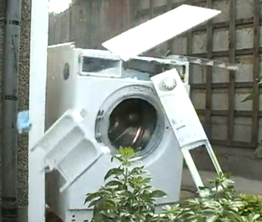 Don't Throw a Brick Into Your Washing Machine