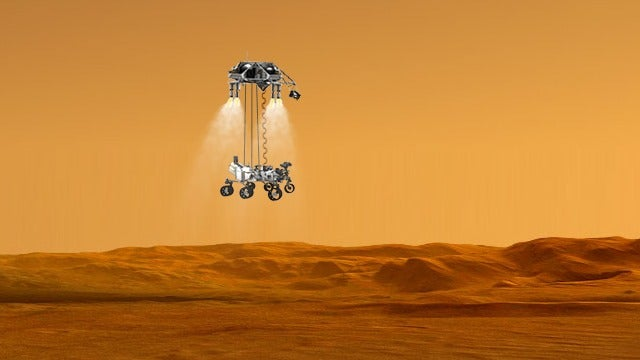 Handy Animation Gives You The Step by Step Breakdown of the Curiosity Landing