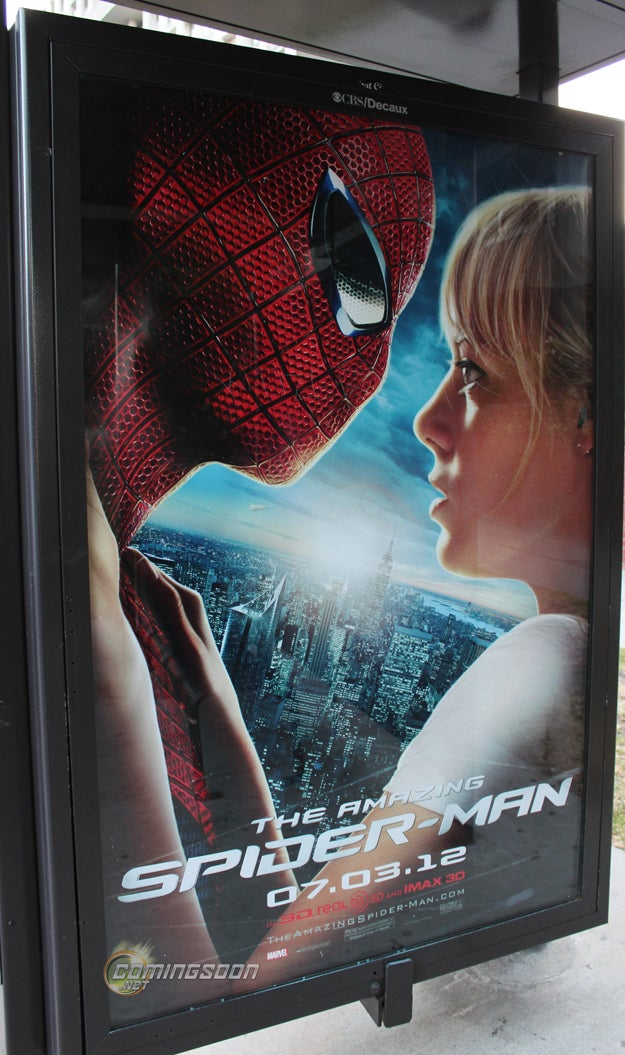 New Gwen/Spidey Poster From The Amazing Spider-Man