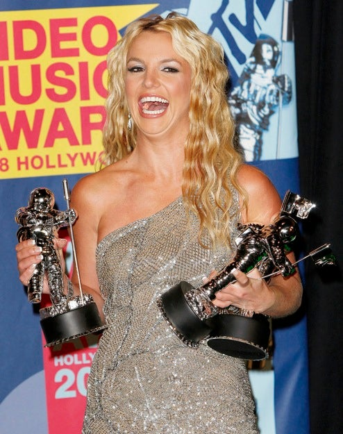 Britney Overjoyed at Finally Being Awarded Custody of Something