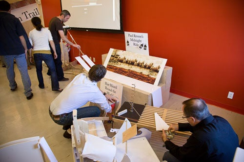 IDEO Sets Up Ridiculously Large, Continent-Spanning Rube Goldberg Device