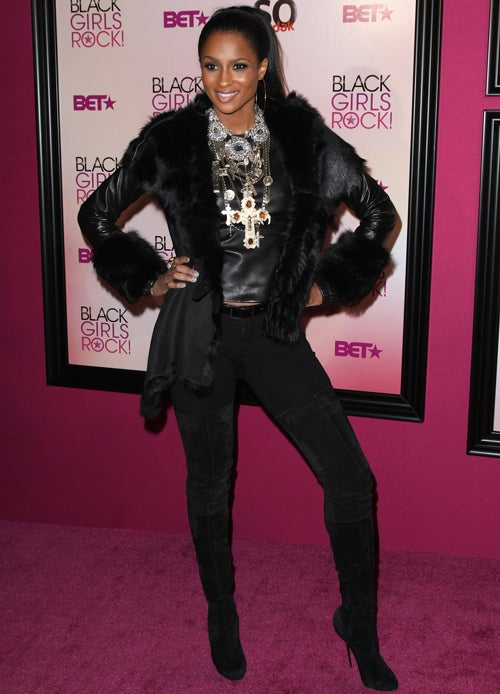 Ciara Rocks The Bronx, That Coat And BET
