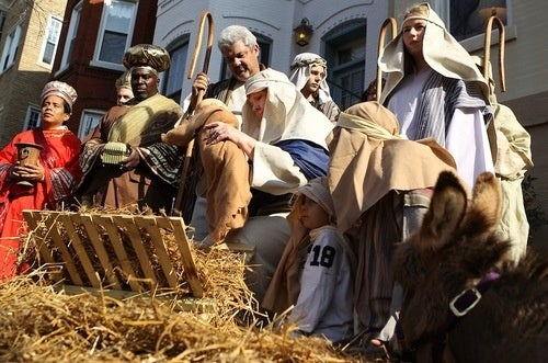 Joseph's Orthopedic Shoes Made the Trek to Bethlehem Much Easier