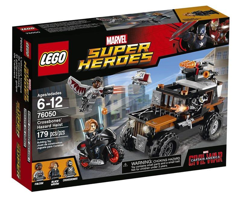 Captain America: Civil War's Battles Aren't Quite As Dramatic In LEGO Form