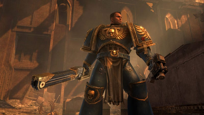 McFist's Manly Man Game -- Warhammer 40K: Space Marine