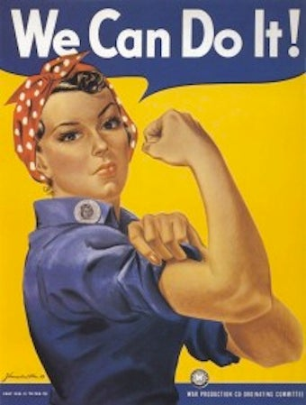 The Many Incarnations Of Rosie The Riveter