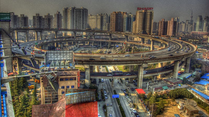 The ten craziest intersections in the world