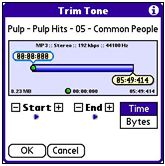 Create your own Treo ringtones with MiniTones