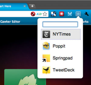 App Launcher Puts Chrome Webapps In Your Extension Bar for Quick Access