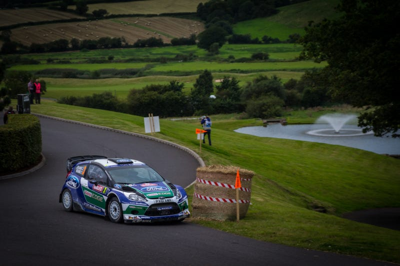 Memories of the 2012 WRC Wales Rally GB